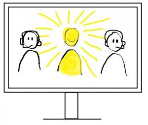 Sichtbar werden im virtuellen Team