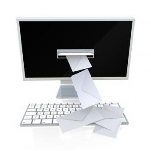E-Mail-Flut in virtuellen Teams