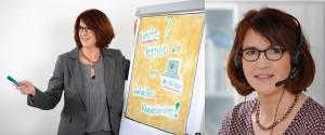 Gudrun Hoehne Flipchart und virtuelles Klassenzimmer