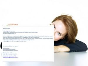 Der Mensch hinter der E-Mail