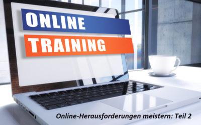 Webinare meistern: die Webinar-Technik (Teil 2)