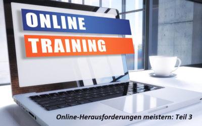 Webinare meistern: Interaktive Webinare (Teil 3)