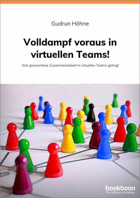 E-Book zu virtuellen Teams mit dem Titel: Volldampf voraus in virtuellen Teams!
