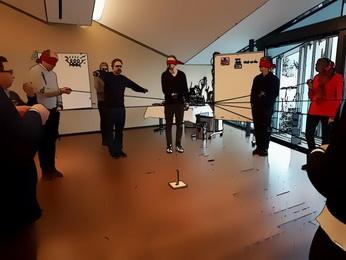Seminar virtuelle Teams fuehren - Uebung und Teambuilding